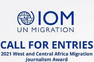 Organisation internationale pour les migrations (OIM) Prix du journalisme sur les migrations en Afrique de l'Ouest et du Centre