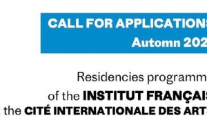 Programme de résidence de l'Institut Français 2022 pour les artistes du monde entier